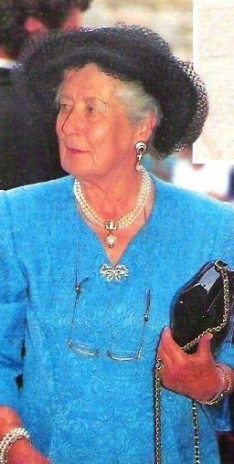 Alice di Borbone, Princess of Borbone Parma, born 13 novembre 1917, Vienna, Austria, died  l28 March 2017, at age 99.