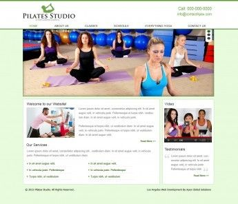 Welcome to Pilates Studio located in Los Angeles, California. Specializing in creating high-quality design solutions. View our various wordpress layout design with modern way. - http://www.mybeststudio.com/website-designs.php