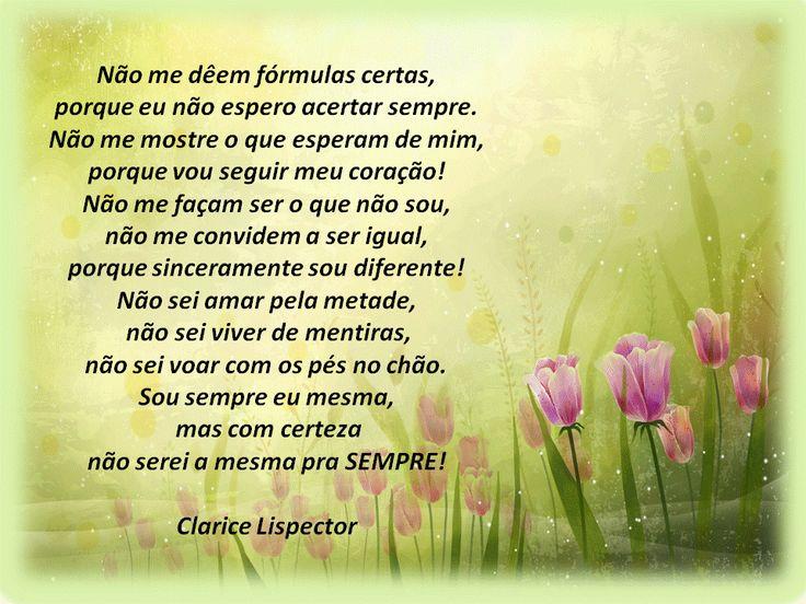 Clarice Lispector.