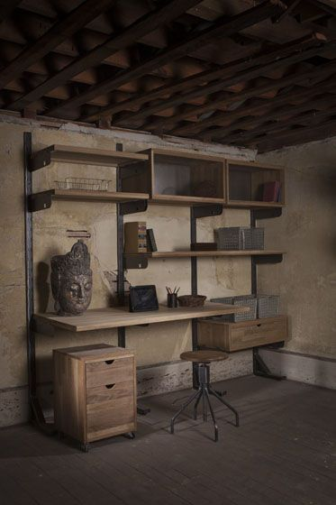 custom home office design stock. the home office reconfigured as easily changed a closet system but with more practical and rugged looks what could be better custom design stock