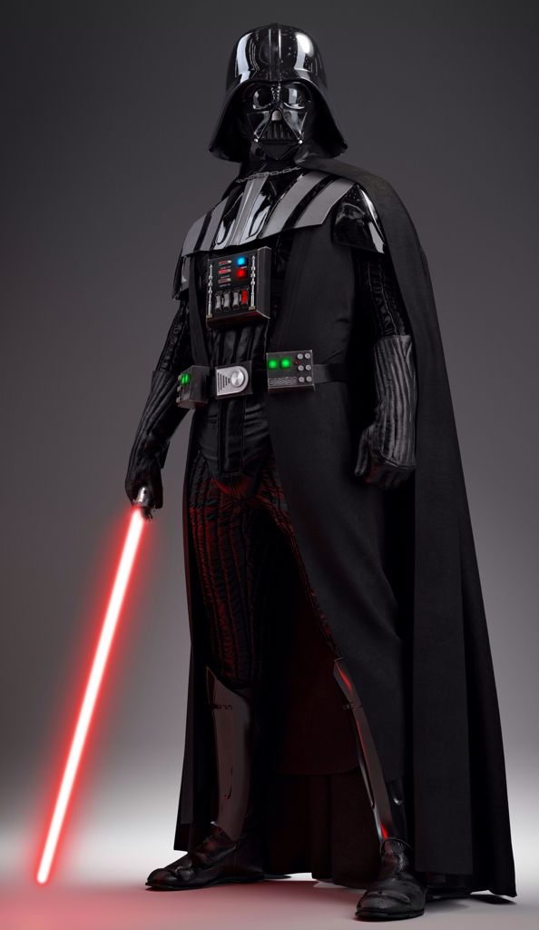 The in-game model for Darth Vader in the upcoming multiplayer shooter, Star Wars: Battlefront.
