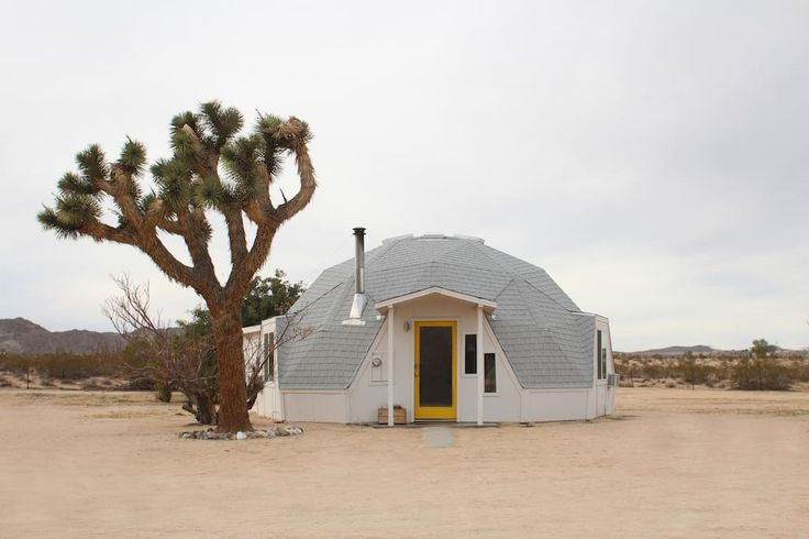 Check out this awesome listing on Airbnb: Dome in the Desert in Joshua Tree - Houses for Rent in Joshua Tree