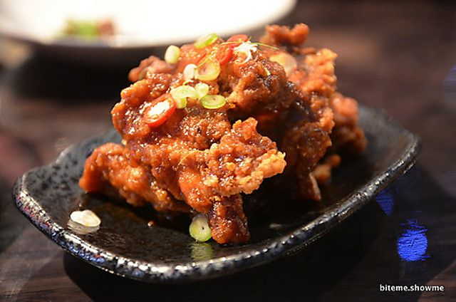 Gingerboy - Salt and Pepper Chicken Spare Ribs in Tamarind Hot Sauce