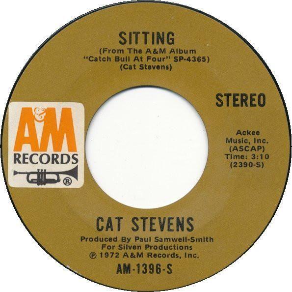 Cat Stevens * Sitting/Crab Dance 7in