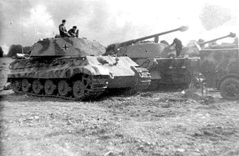 Stuka — Königstiger of the schwere Panzer Abteilung 503