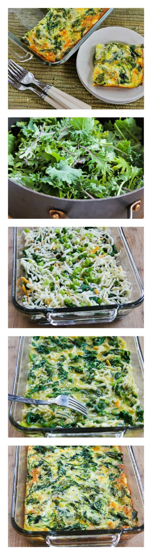 Baby Kale, Mozzarella, and Egg Bake Recipe (and Ten More ...