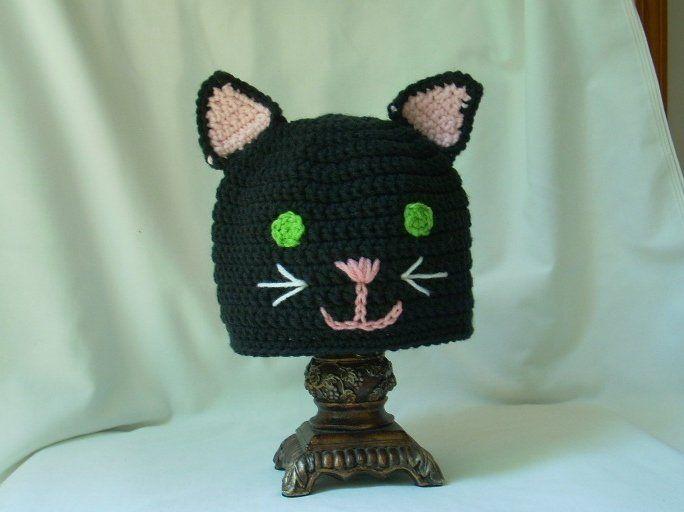 30f7af8a8f1 Teen Black Cat Hat