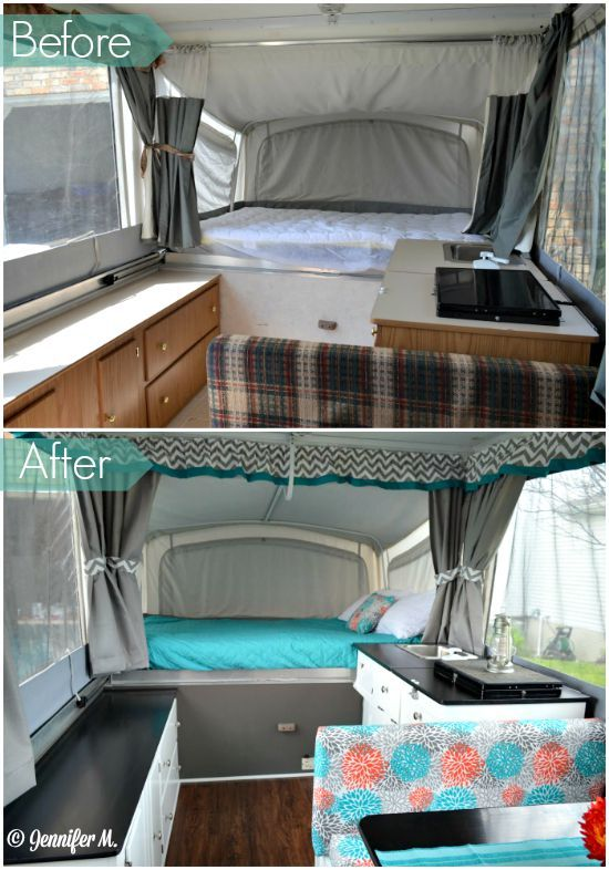 Jennifer's Pop Up Camper Makeover - The Pop Up Princess: