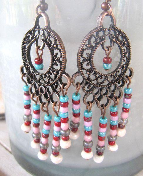 Ohrringe -   Ohrringe Marroko - ein Designerstück von MIO-O bei DaWanda