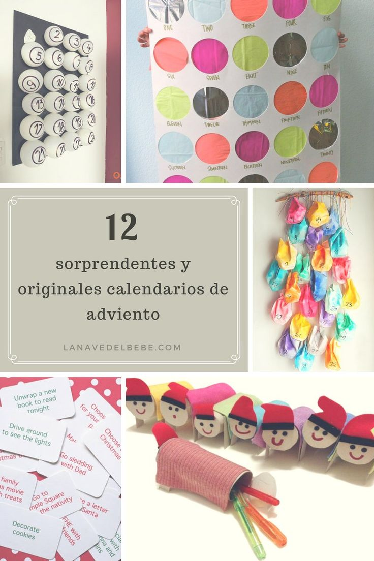 calendarios de adviento originales 2016
