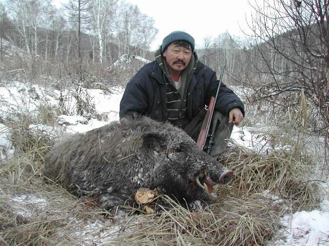 Boar Hunter, Mongolia