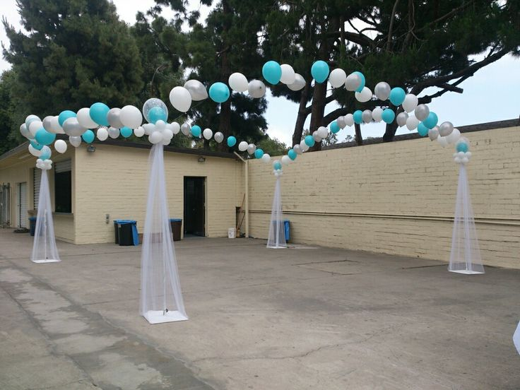 17 best images about quinceanera balloon decor on for Balloon dance floor decoration