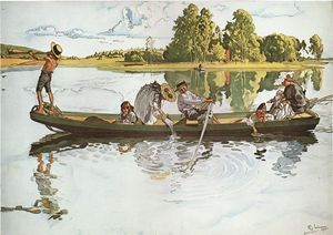Viking Expedition - (Carl Larsson)