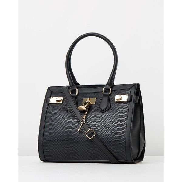 ALDO Gilliam Handbag ($71) ❤ liked on Polyvore featuring bags, handbags, aldo handbags, handbags & purses, aldo purses, black handbags and black bag