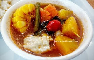 Dapur Greget: Sayur Asem Pedas Vegetarian