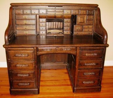 antique roll top desk 1900 1950 Antique Oak Roll Top Desk | Roll Top Desk Makeover in 2018  antique roll top desk 1900 1950