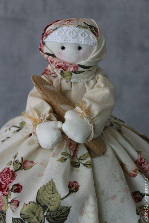 Купить баба на чайник - разноцветный, Баба на чайник, кукла интерьерная, кукла ручной работы