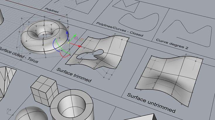 Rhino 101 Fundamentals Of 3d Modelling 3d 모델링 건축 디자인