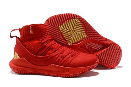 save off 5765c a5641 Buy UA Curry 5 High Tops Chinese Red - Mysecretshoes