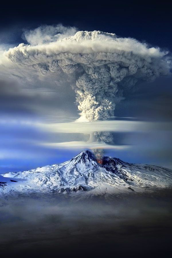 Wow this is absolutely amazing. Great mountain volcano landscape photography