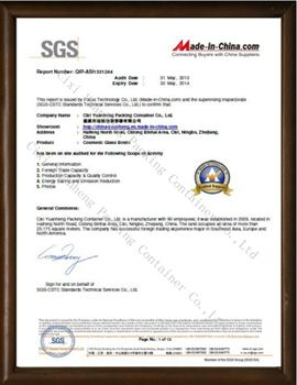 Honor-CIXI YUANHENG PACKING CONTAINER CO.,LTD.