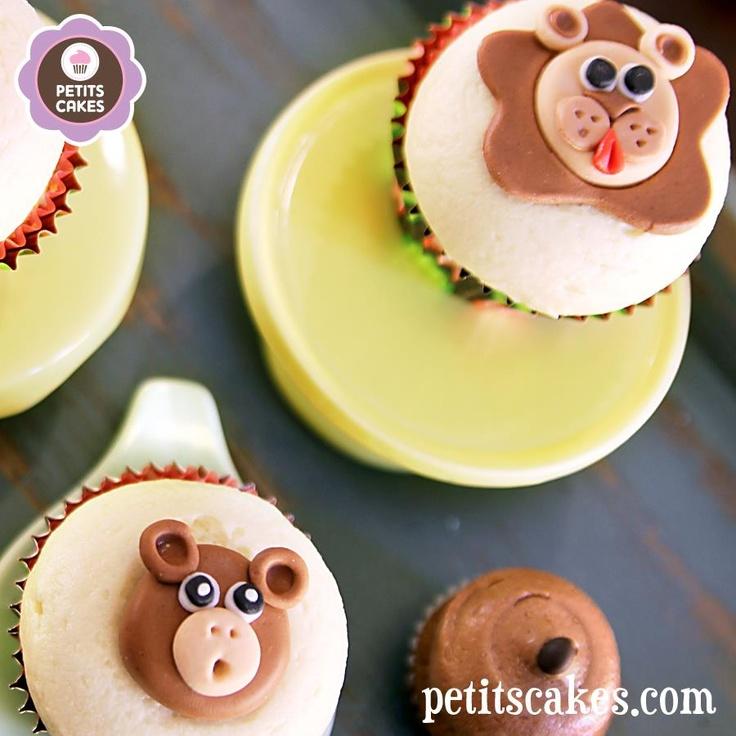 Petits Cakes - Zoo Animals Cupcakes / Cupcakes animaux de Zoo