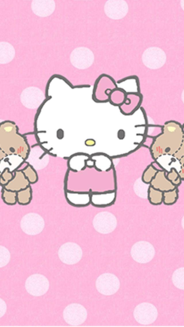 Wallpaper  hello kitty  Pinterest  Hello kitty, Wallpaper and Kitty