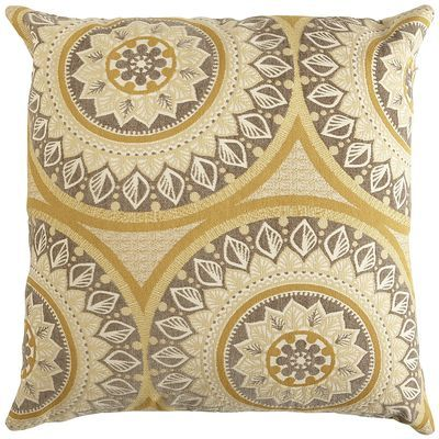Ophelia Oversize Pillow - Suzani Gold