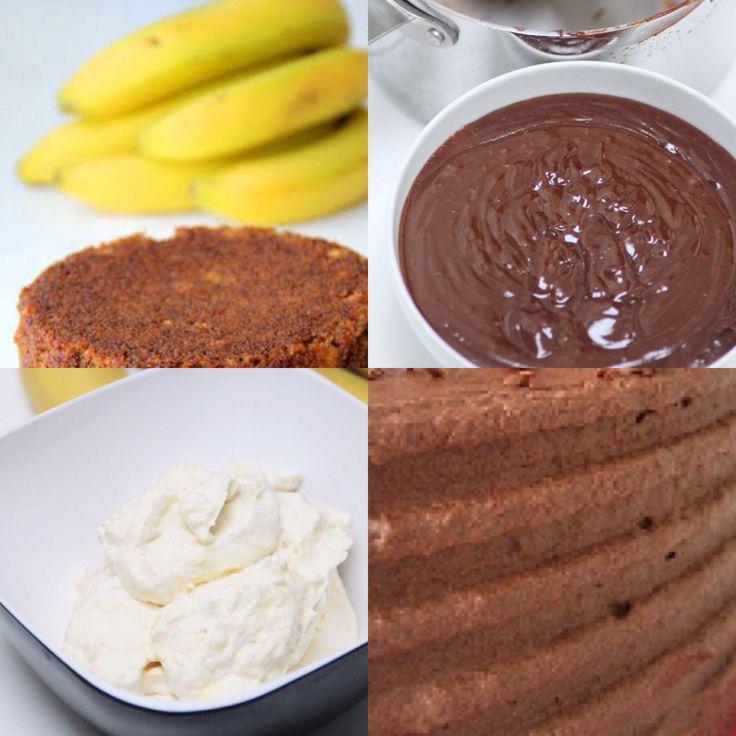 Bananmousse | Bakverk och Fikastunder