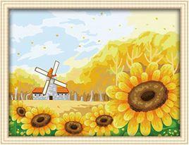 CF 035- Sun Flower Rp 165.000,-  Canvas size: Ukuran 30 x 40 Packaging size: 31 x 41 x 3.5 cm (setara dengan 1 kg)  ALICE painting kit sudah termasuk - Kanvas pattern lukisan yg dibuat dari high grade cotton dengan tekstur halus. - Cat pigment warna yg ramah lingkungan, tidak beracun dan tidak cepat pudar. - Beberapa kuas nylon. - Kertas manual kode warna  Contact: Email: jjbigstore@yahoo.com Instagram: @Silvblue Shop We Chat, Kakao, Line: silvblue SMS: 0818 0832 9022 WhatsApp 0896-2860-9094