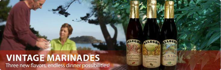 "Allegro Marinade - MY FAVORITE! I think the ""plain"" original flavor is the best so far :)"