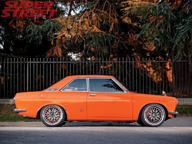 Datsun Bluebird - I really like the wheel/color combo. I like - http://extreme-modified.com/