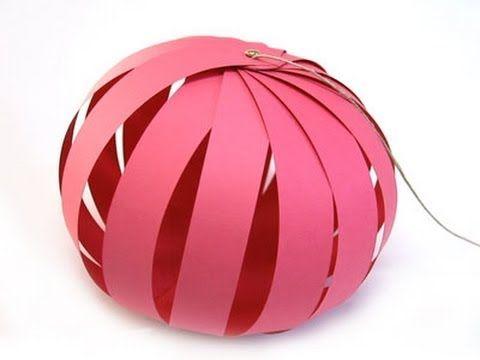 Cómo hacer una esfera con una caja de leche, fácil, económico y a favor de la naturaleza