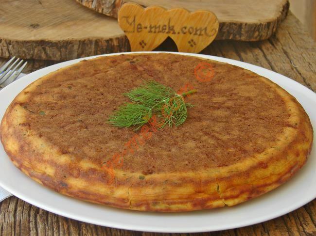 Peynirli Tava Keki Resimli Tarifi - Yemek Tarifleri