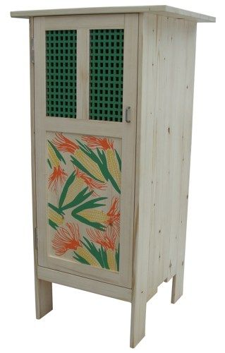 The Corn Cupboard: Spruce Storage Cabinet