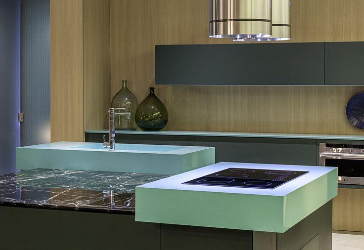 Kjøkken vask i  Acqua Fraccaroli, fra Silestone. Kjøp den hos Naturstein Montering AS, 3531 Krokkleiva