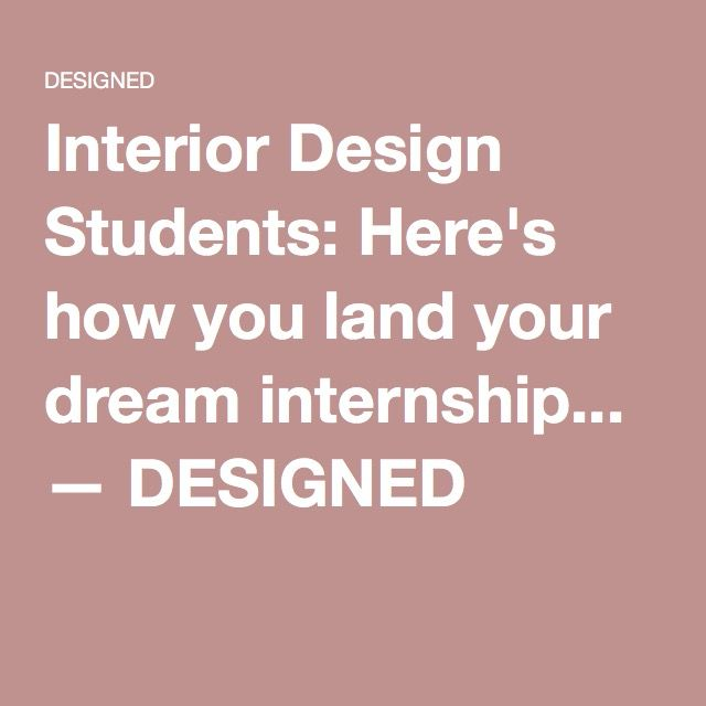 25 great ideas about interior design internships on pinterest for Interior design internships