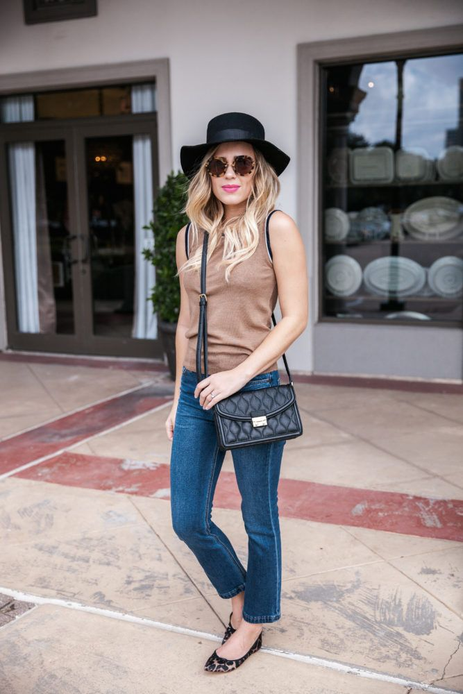 It's Good to Be A Girl   Fall outfit   Fall Transition looks   Preppy Chic outfit   Uptown with Elly Brown