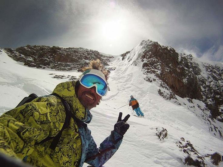 Freeride session in Les 2 Alpes with FIRSTRAX