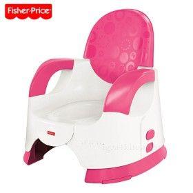 Fisher Price růžový nastavitelný nočník