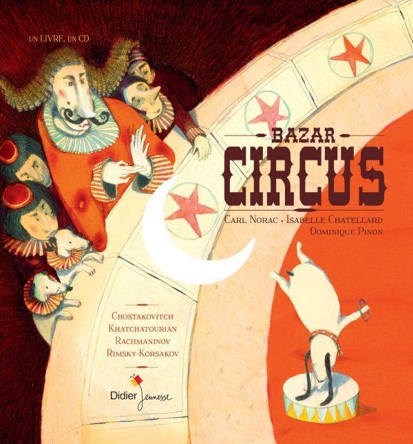"""Résultat de recherche d'images pour """"livre cirque avec cd"""""""