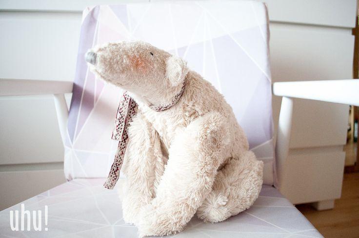 Miś polarny  w uhu! handmade na DaWanda.com