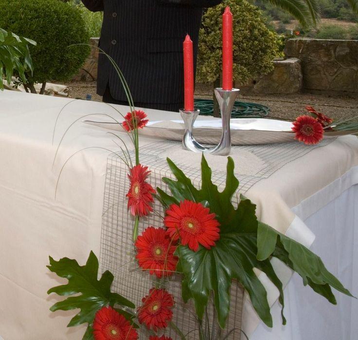 decoració d'una cerimonia civil