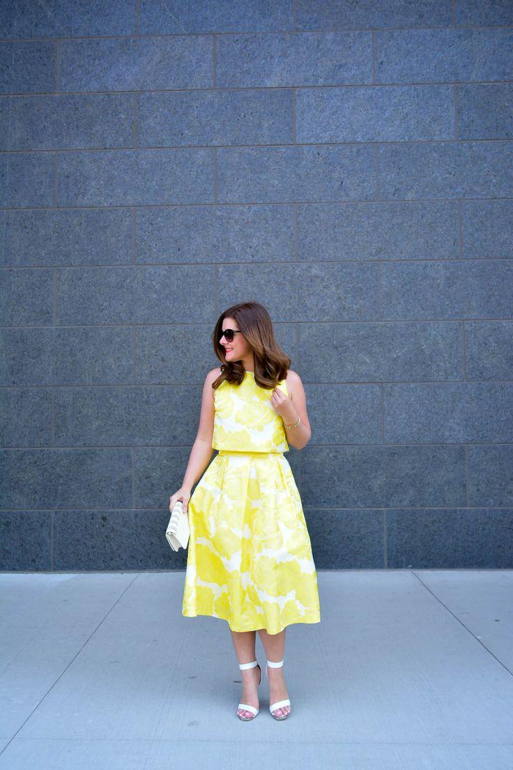 @Asos Midi Skirt + Crop Top || alilyloveaffair.com