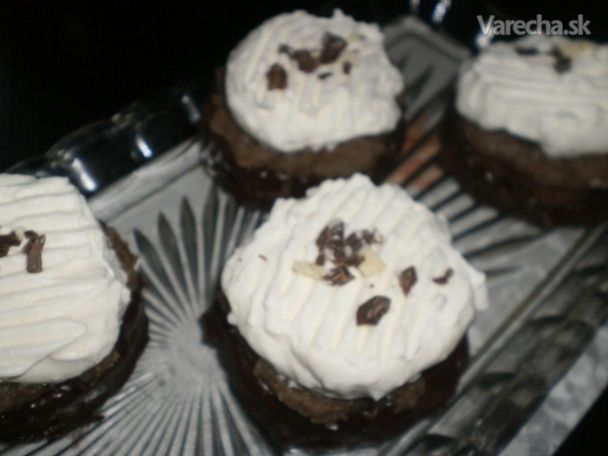 Gaštanové tortičky (fotorecept)