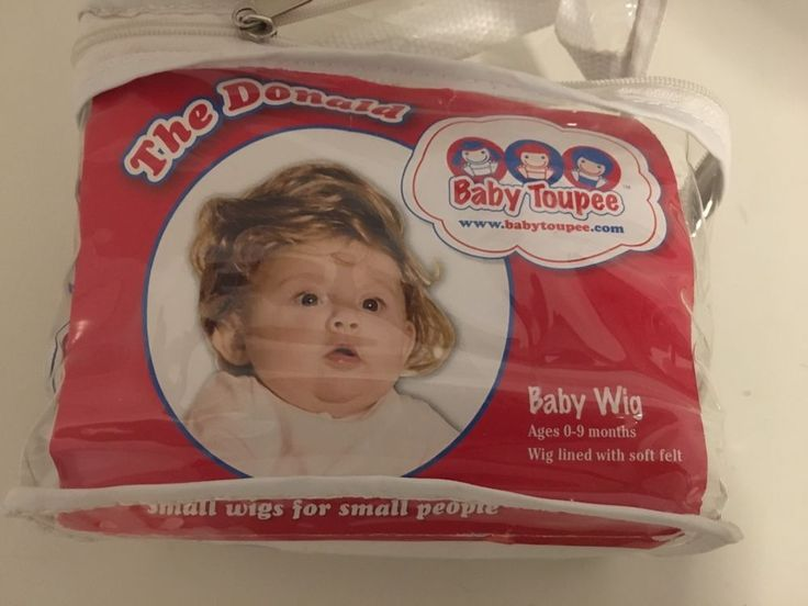 Donald Trump Baby Toupee The Maybe President of The World Wigs for Babies | eBay