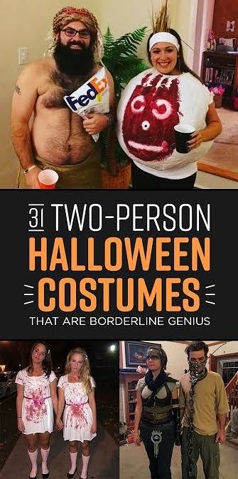 5 person halloween costume group