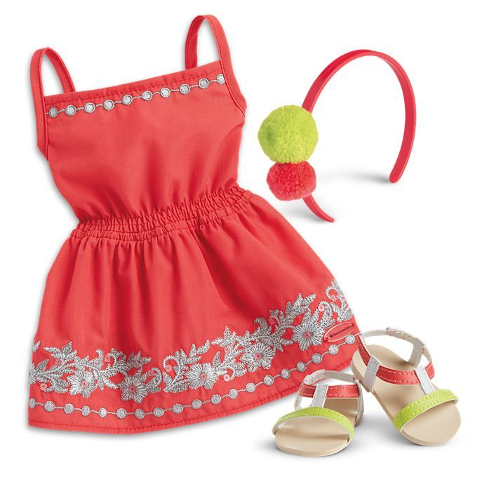 Sunny Day Dress for 18-inch Dolls | American Girl