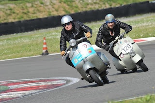 A day at the Vespa races