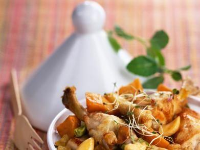 Kiptajine met zoete aardappelen (Libelle Lekker!)